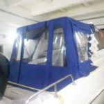 Ходовой тент для лодки Tahatsu TX20