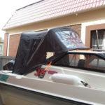 Ходовой тент на лодку Yamaha