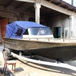 Ходовые тенты на лодки