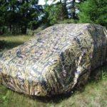 Камуфляжный тент-чехол для автомобиля