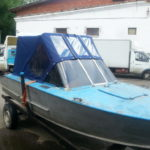 Тент ходовой для лодки «Прогресс»
