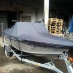 Транспортировочный тент на лодку «Салют»