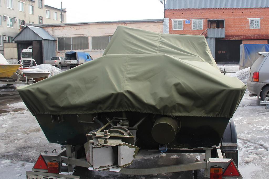 Транспортировочный тент на лодку Rusboat 460