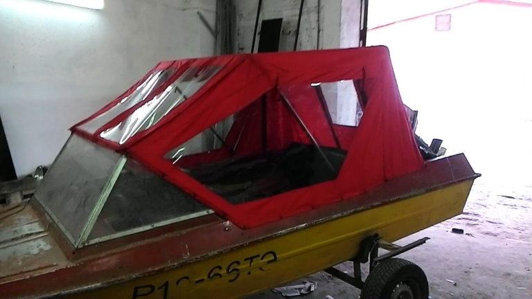 тент на лодку на заказ