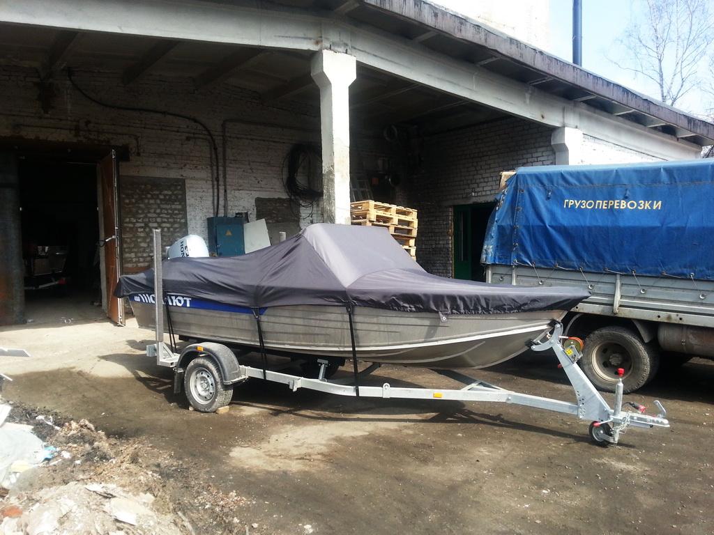 Изготовление транспортировочного тента на лодку «Салют»
