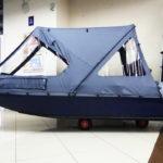 Ходовые тенты на лодки-ПВХ в Томске заказать, ходовые тенты на надувные лодки