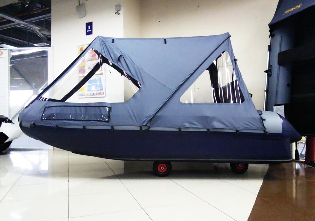 тент для лодки пвх флагман 320