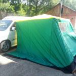 Кемпинговые палатки для авто в Томске заказать, пошив кемпинговых тентов для авто