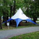 Шатер-звезда в Томске, купить шатер звезду, изготовление шатров-звезд на заказ