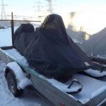 Защитные тенты-чехлы на снегоходы в Томске заказать, пошив защитных тентов на снегоходы