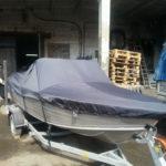 Транспортировочные тенты на лодки в Томске, заказать пошив транспортировочных тентов на лодки