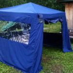 Тенты для дачи в Томске заказать, пошив шатров для дачи и тентов-беседок