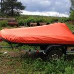 Транспортировочный тент на лодку-ПВХ в Томске заказать, пошив транспортировочных тентов на надувные лодки