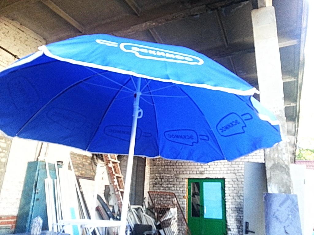 Зонт торговый брендированный для компании «Эскимос»
