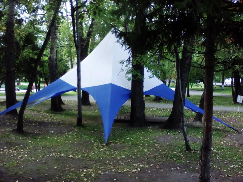 Изготовление и монтаж шатра звезды на заказ