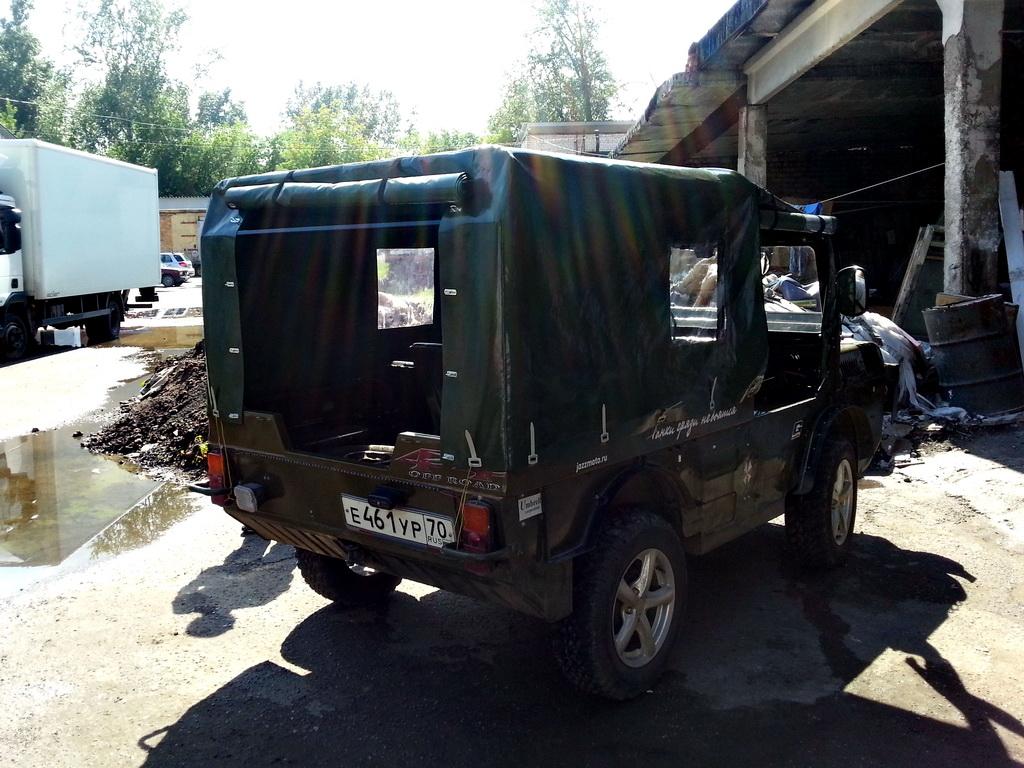 Изготовление ходового тента для вездехода ЛУАЗ 967М ТПК