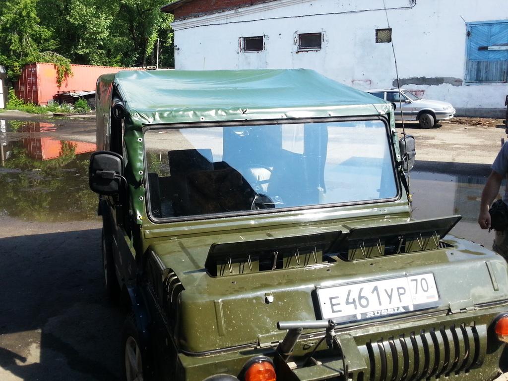 Тент для вездехода ЛУАЗ 967М ТПК в Томске
