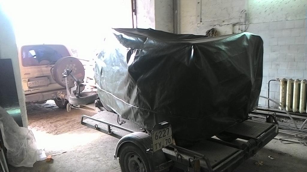 Укрывной тент-ПВХ для трехколесного мотовездехода в Томске