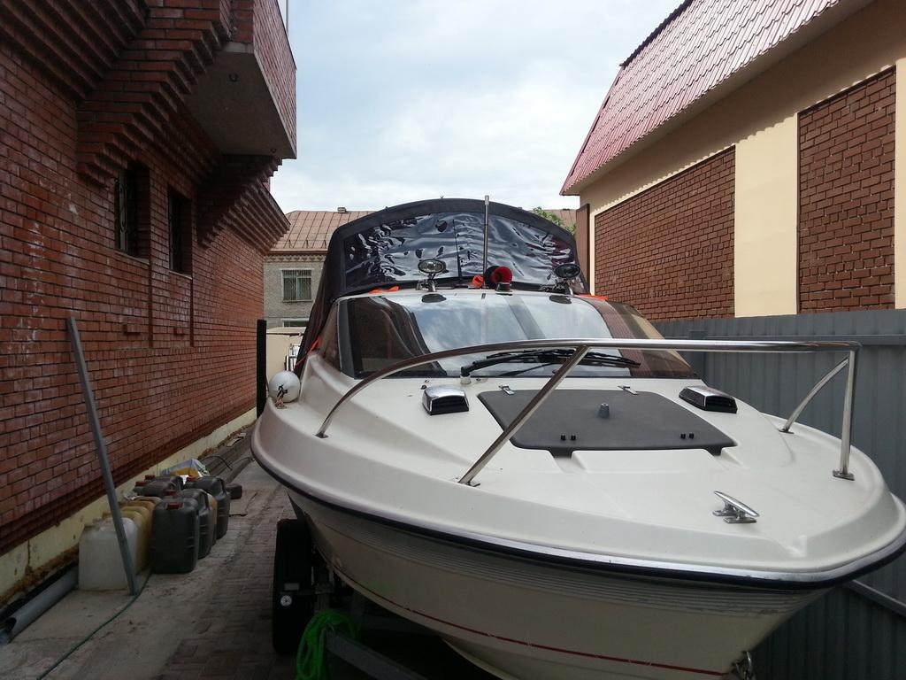 Тент на лодку Yamaha ходовой
