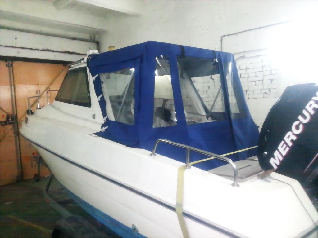 Ходовой тент на лодку Tahatsu TX20