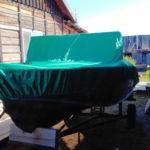Тент-чехол на лодку «Прогресс-4»