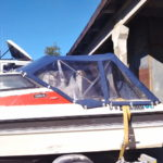 Ходовые тенты на катера