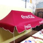 Торговый тент CocaCola