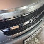 Утеплитель радиатора на автомобиль Hyundai
