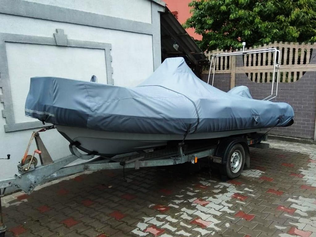 Транспортировочный тент-чехол на лодку «Феникс 400»